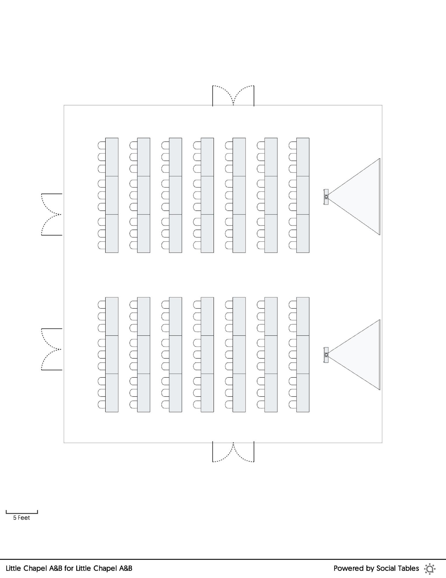 Little Chapel A&B Classroom floorplan